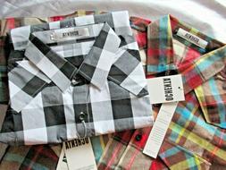 Ochenta Womens Plaid Shirt Long Sleeve Button Down Western S