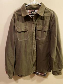 Work n Sport Flannel Lined Men's Shirt XL