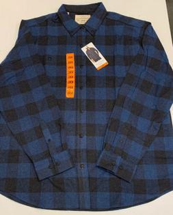 Weatherproof XXL Blue Flannel Shirt Mens NEW with TAGS XXL 2